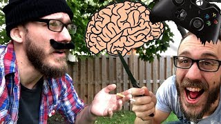 "Old People Video Game Logic ""It'll Rot Your Brain!"" 