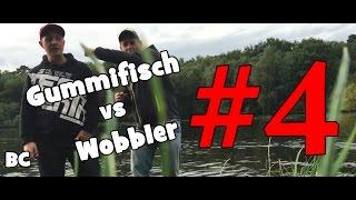 Barsch Challenge #4 / Gummifisch vs Wobbler / Barsch Angeln