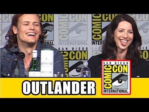 Outlander Comic Con 2015 Panel - Sam Heughan, Caitriona Balfe, Season 2 | MTW