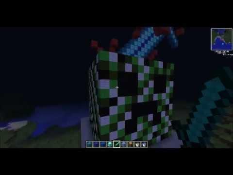 Minecarft Pixel Art Creeper Head Minecraft Project