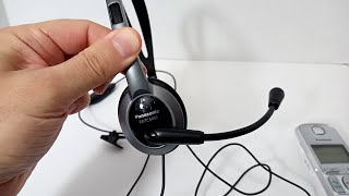 Headset for all Panasonic Cordless Phones: KX-TCA430 Review