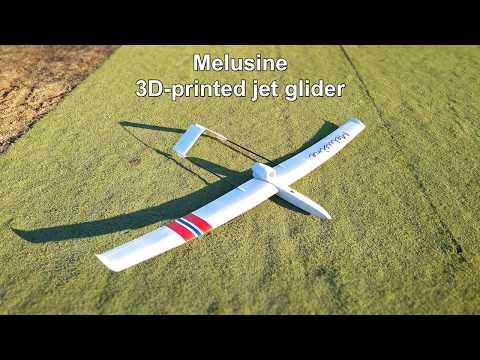 3d-printed-jet-glider---melusine-edf