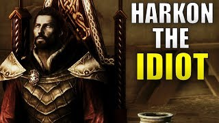 Why Harkon Is An IDIOT - Skyrim Dawnguard Vampire Lore