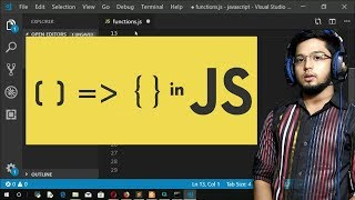 7.Arrow Functions in Javascript - Passing Objects to Functions - Passing Array to Functions