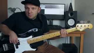 Maroon 5 - This Summer's Gonna Hurt Like A Motherf****r bass cover by oefi
