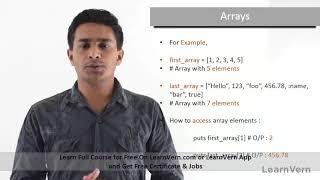 Arrays in Ruby Tutorial