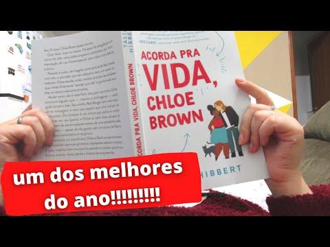 ACORDA PRA VIDA, CHLOE BROWN, Talia Hibbert | VLOG DE LEITURA