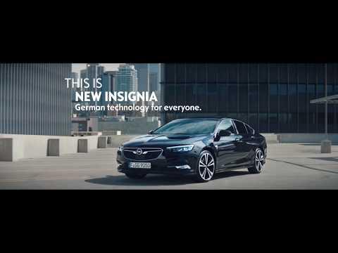 Opel Insignia Grand Sport Лифтбек класса D - рекламное видео 3