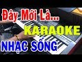 Karaoke Nhc Sng c Bit Nht 2019 Lk Cha Cha Cha Dn Ca n Organ Live Cc nh Trng hiu