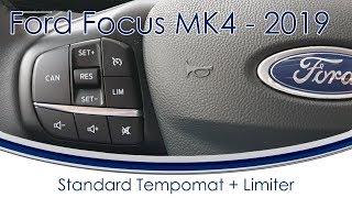 [Ford Focus 2018/2019 MK4] #5 Standard Tempomat + Limiter / Begrenzer