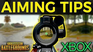 PUBG XBOX - Aiming & Gunfighting Tips!
