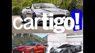#10 – Aston Martin GT12 Roadster, Vanquish Zagato e AM-RB 001