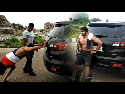 sudheer-babu-workout-training-on-road