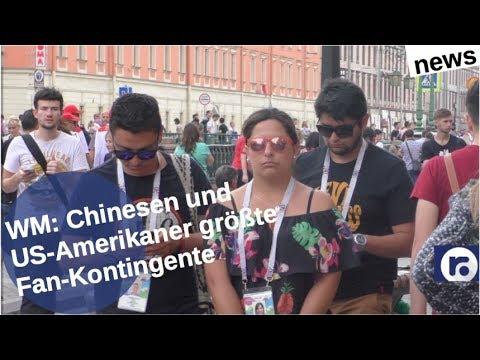 Chinesen und US-Amerikaner meiste WM-Fans [Video]