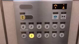 【ケチ更新】三宮サンパルのエレベーター(日立製)その1