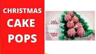 Cake Pops   Christmas Balls