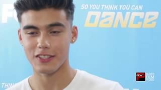 Bailey May of Now United talks about performing on SYTYCD and new Now United Single