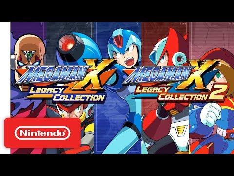 Mega Man X Legacy Collection 1 & 2 Announcement Trailer - Nintendo Switch thumbnail