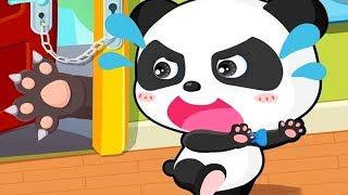 Безопасность Малыша Панды.Как уберечь Малыша от Неприятностей.мультики Игра про Панду на Русском