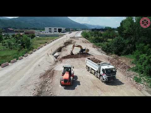 Gradnja bulevara od Podgorice do Danilovgrada