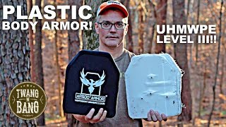 Can Plastic Body Armor Really Stop Bullets?