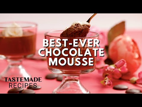 Best-Ever Chocolate Mousse (Only 4 Ingredients!) | Tastemade