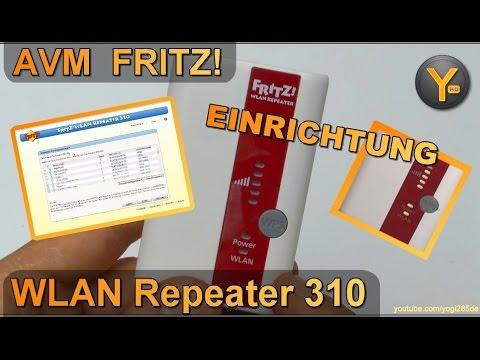 Einrichtung & Konfiguration: FRITZ! WLAN Repeater 310 (WiFi Verstärker 802.11b/g/n WPA2)