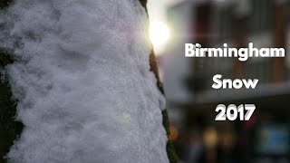 Birmingham Snow 2017/18