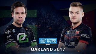 CS:GO - OpTic Vs. FaZe [Overpass] - Group B Round 2 - IEM Oakland 2017