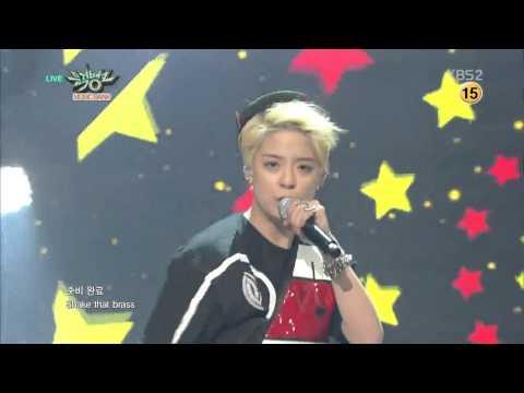 [HIT] 뮤직뱅크-엠버(AMBER) - Shake That Brass (Feat. LUNA(f(x)).20150227