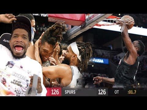 ROCKETS GOT ROBBED BRO!!! Houston Rockets vs San Antonio Spurs Full Game Highlights