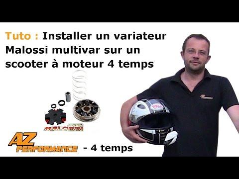Changer le variateur par un variateur Malossi Multivar de son scooter de type Gy6 / 139QMB / …