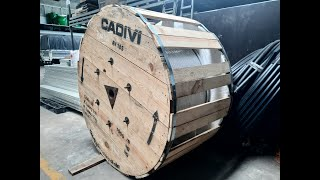 Cáp Nhôm AV – 185mm2 0.6/1kV CADIVI
