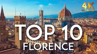 TOP 10 Things to do in FLORENCE in 2020 | Italy Travel Guide 4K