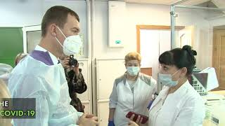 Михаил Дегтярёв продолжает серию рабочих поездок по мун...