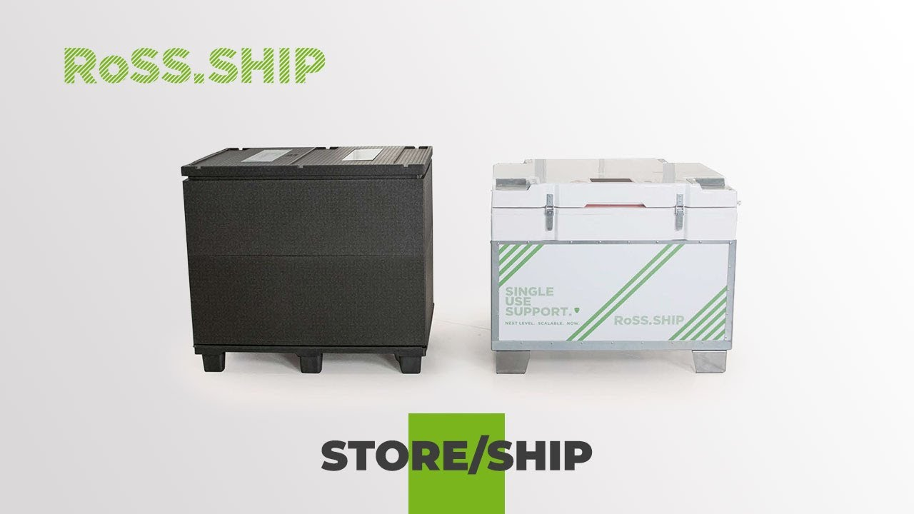 RoSS.SHIP /  Ship and Store your bulk drug substance