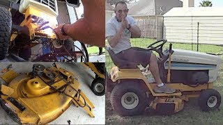 Fixed My PTO not engaging Issue - 38 Inch Cub Cadet Riding Lawn Mower
