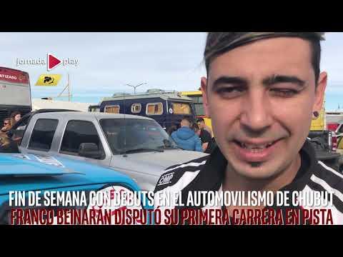 Fin de semana con debuts en el automovilismo de Chubut