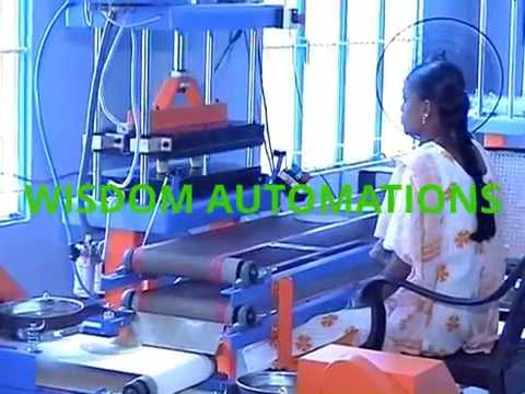 Semi Automatic Half Cooked Chapati Making Machine (Pneumatic)