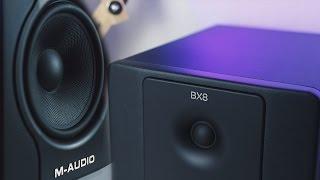 Preiswerte Studio Lautsprecher? M-Audio BX8 D2 Review - Awesome Tech