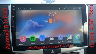 Das schönste Android Radio 4GB RAM PX5 10 Zoll VW || The most beautiful radio ||
