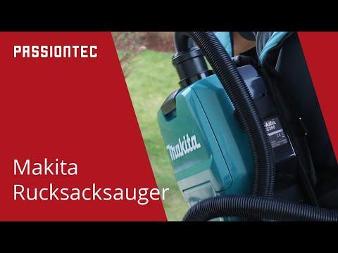 Makita Rucksackstaubsauger DVC260Z