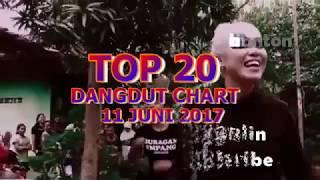 Top 20 Dangdut Chart  11 Juni 2017