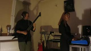 Video EVELYN - Black Tears [Edge of Sanity cover] Raw Recording 2021