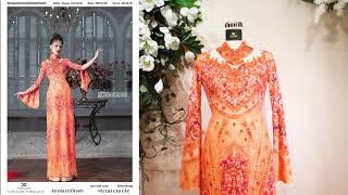 Mẫu áo dài đám hỏi đẹp nhất dành riêng cho cô dâu | Áo Dài Đỗ Trịnh Hoài Nam