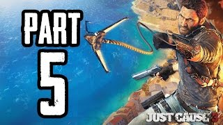 Just Cause 3 | #5 | Agraelus | CZ Lets Play / Gameplay [720p60] [PC]