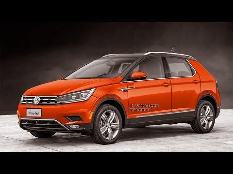 RENDER Novo VW Gol Rallye 2020 170 1.0 TSI Projeto A00, Substituto do Cross Up, Polo Simplificado