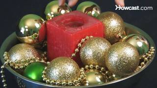 How To Make Christmas Centerpieces