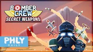 Bomber Crew - NAZI Secret WEAPONS DLC (Bomber Crew Gameplay)