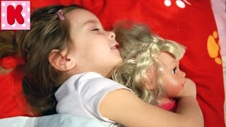 Ксюша как Мама для Куклы Baby Born Видео для Девочек